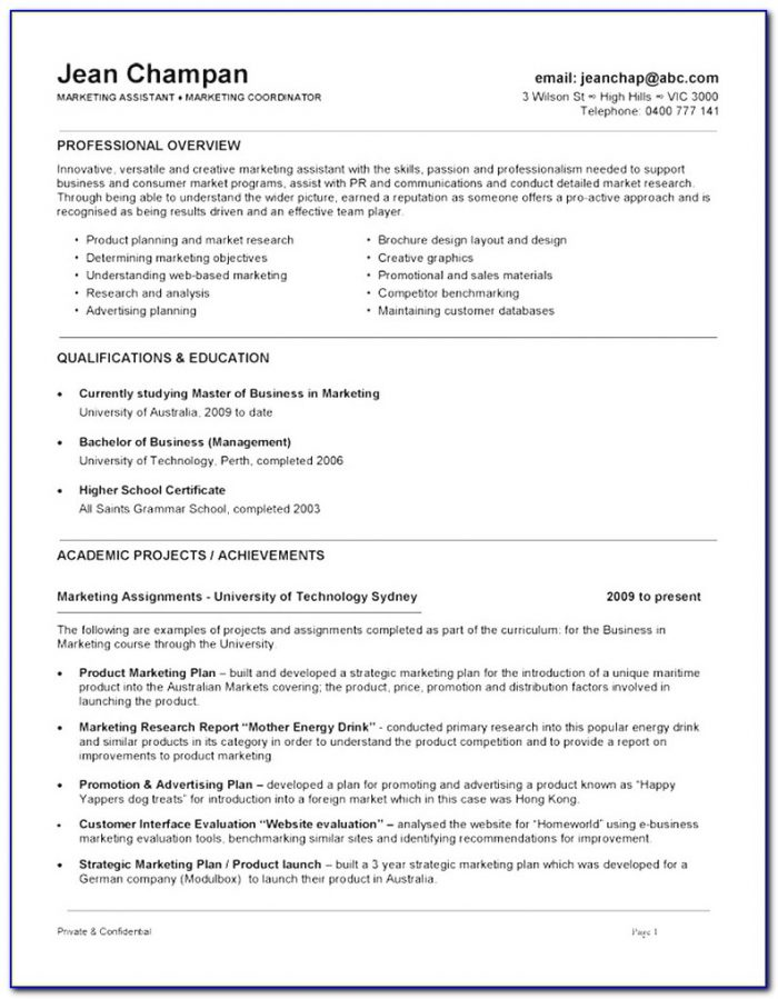 Modern Free Resume Template Australia 2018 Best Resume Templates Inside Australian Resume Template 2018