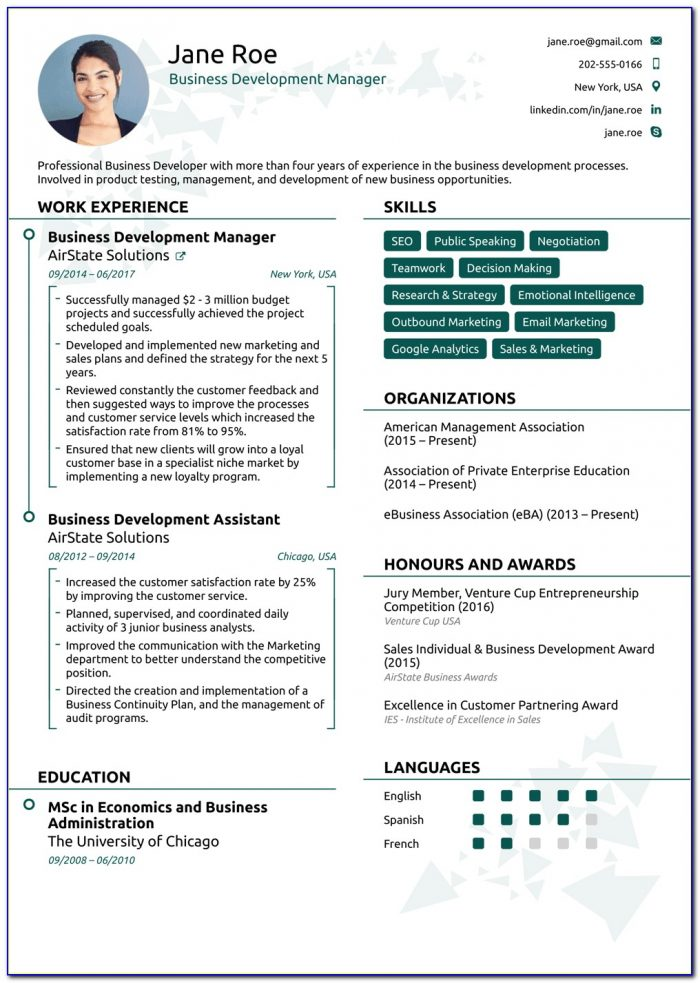 Best Free Resume Templates Online