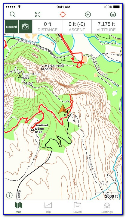 Best Gps Topo Map App For Iphone
