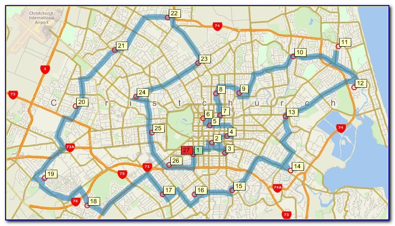 Maptitude Street Mapping And Route Mapping Software For New Zealand