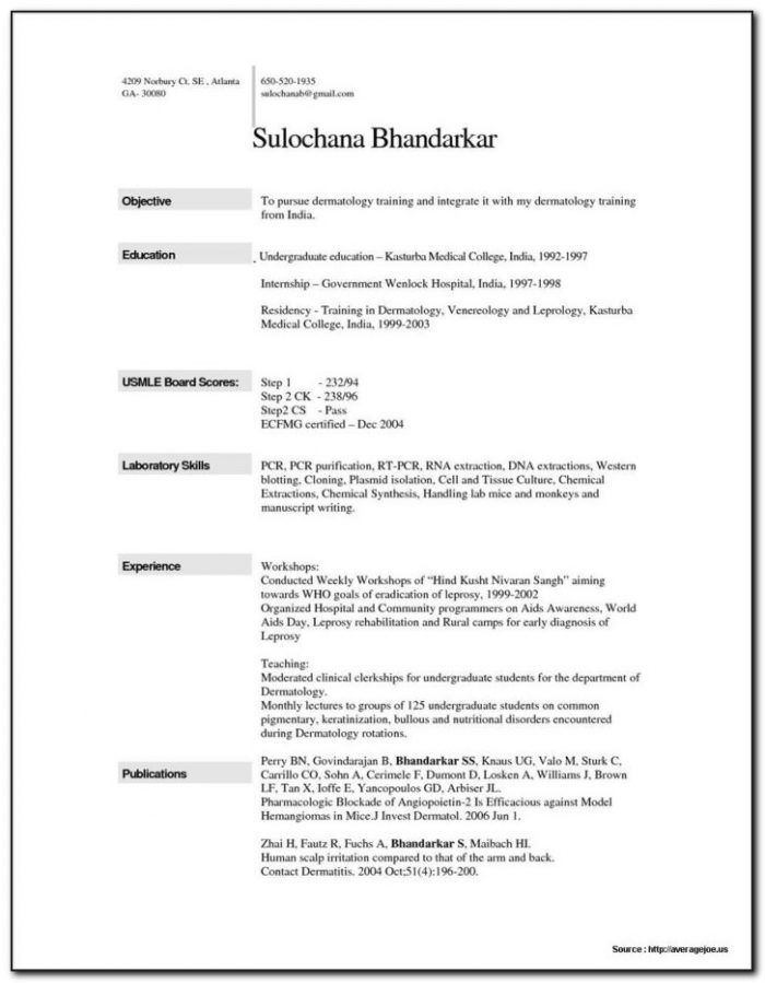 Best Online Free Resume Builder