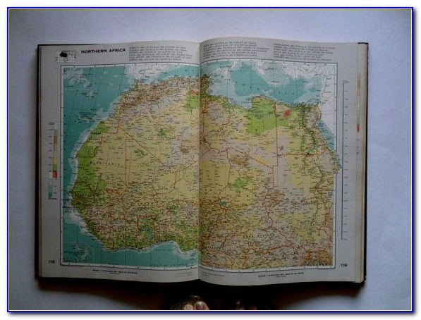 Best World Map Books
