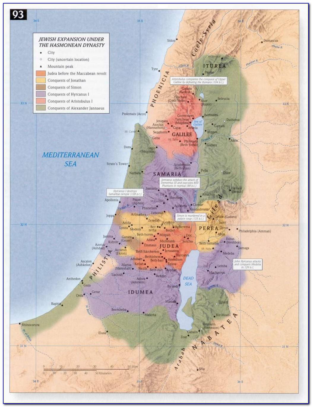 Bible Land Maps Free
