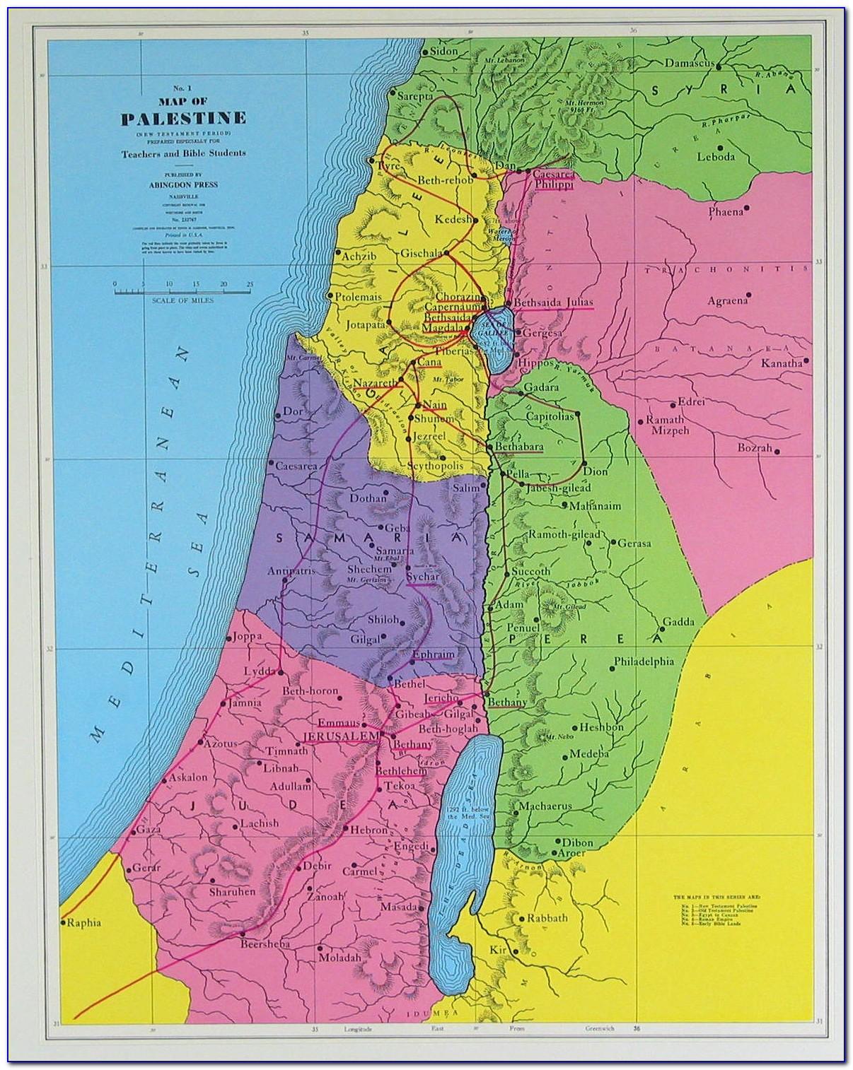 Bible Maps New Testament