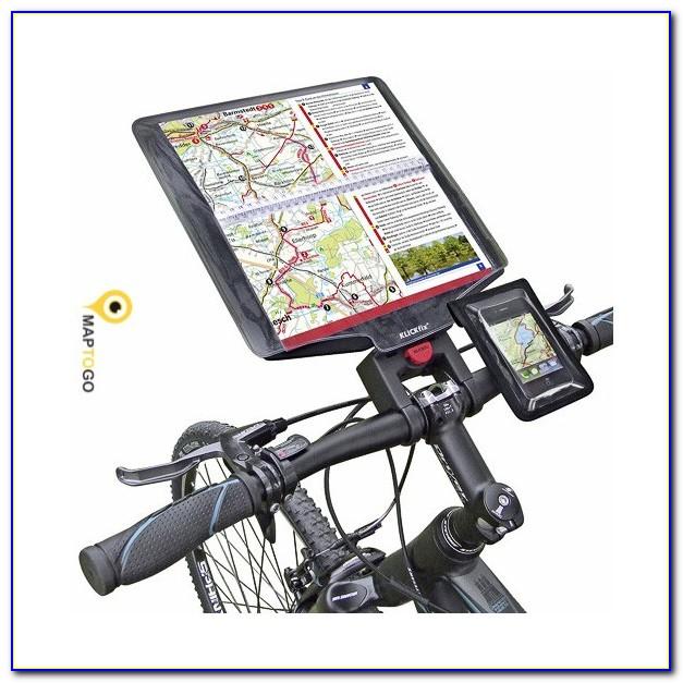 Bicycle Handlebar Bag With Map Holder