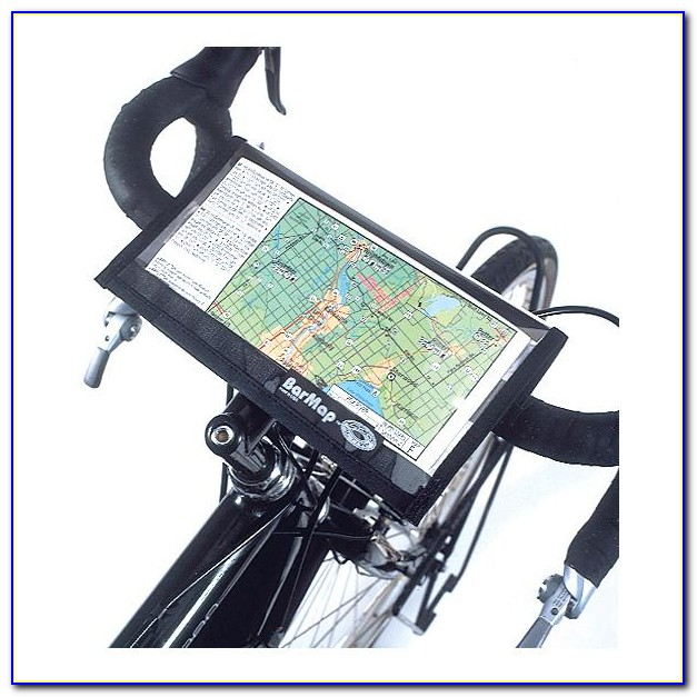 Bicycle Map Holder Handlebar