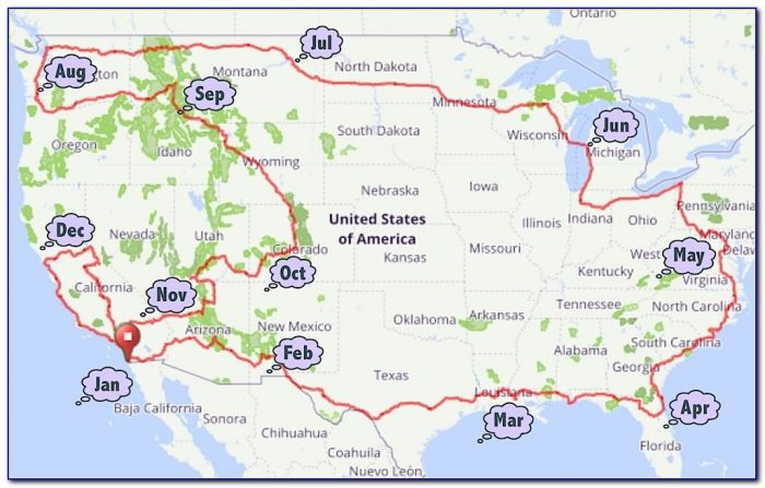 Bicycle Touring Maps Usa