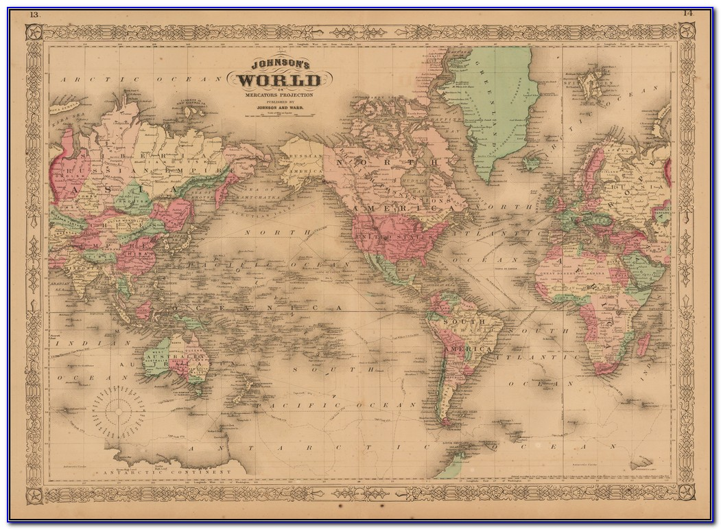 Boris Johnson Map Of The World