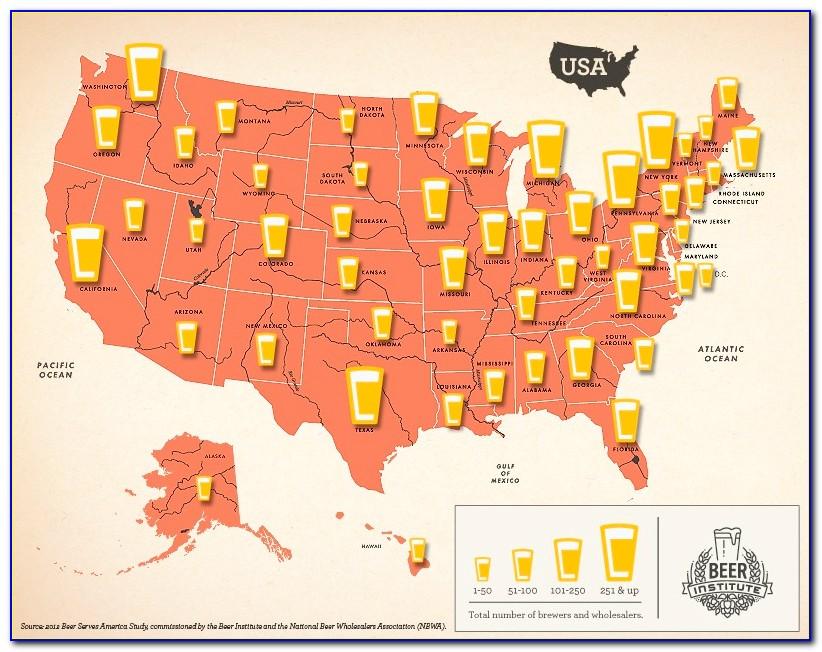 Brewery Map Usa