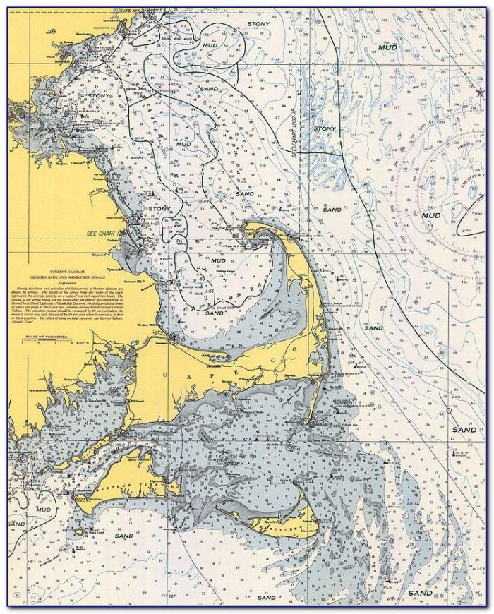 Cape Cod Canal Nautical Chart