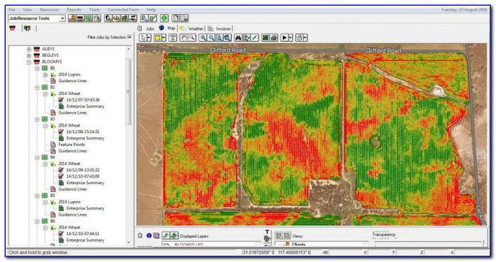 Case Ih Yield Mapping Software
