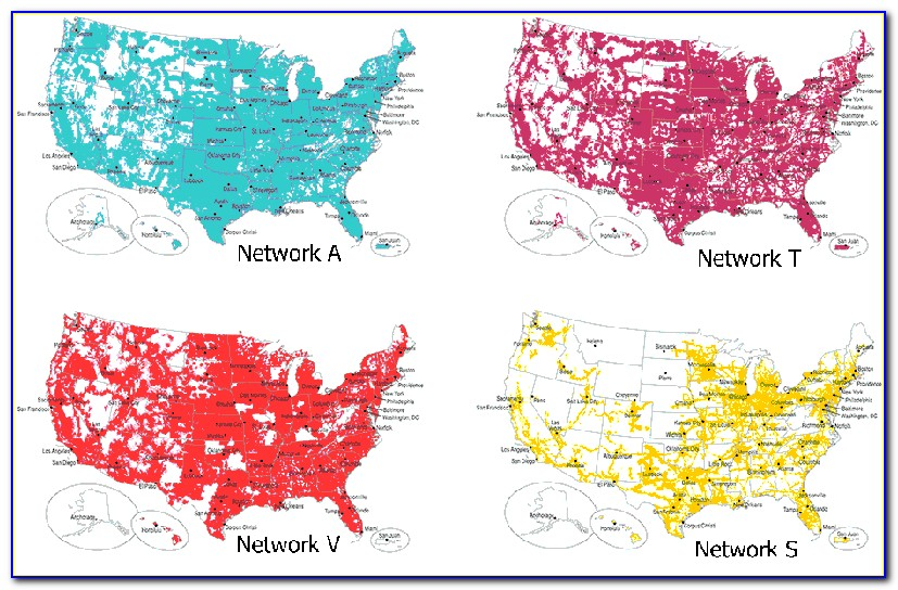 Cell Phone Coverage Maps Compare