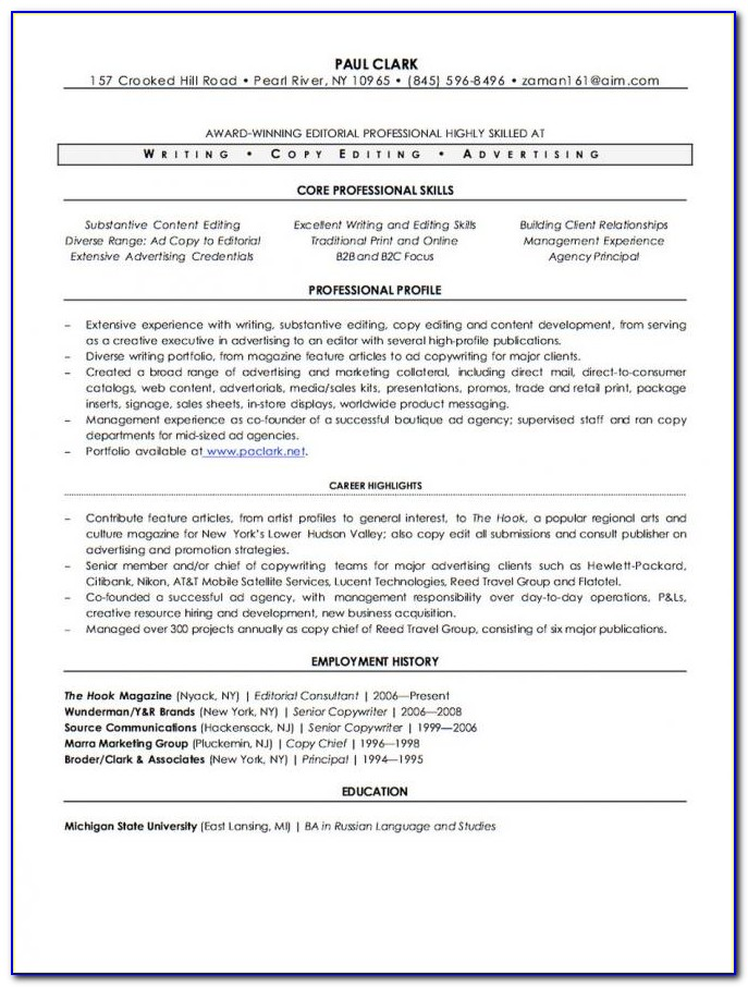 Certified Professional Resume Writers Canada