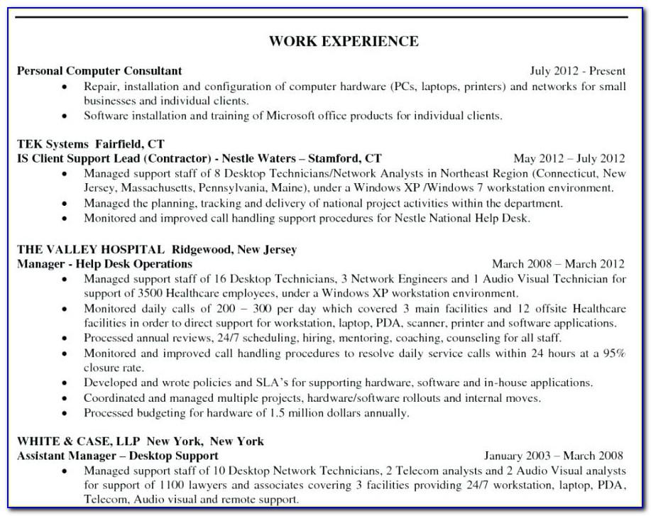 Certified Resume Writers Nyc