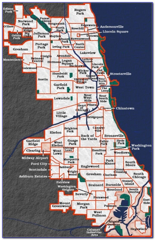 Chicago Hoods Map