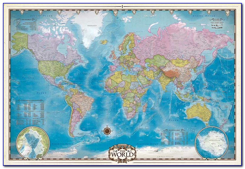 Children's Map Of The World Jigsaw Puzzle