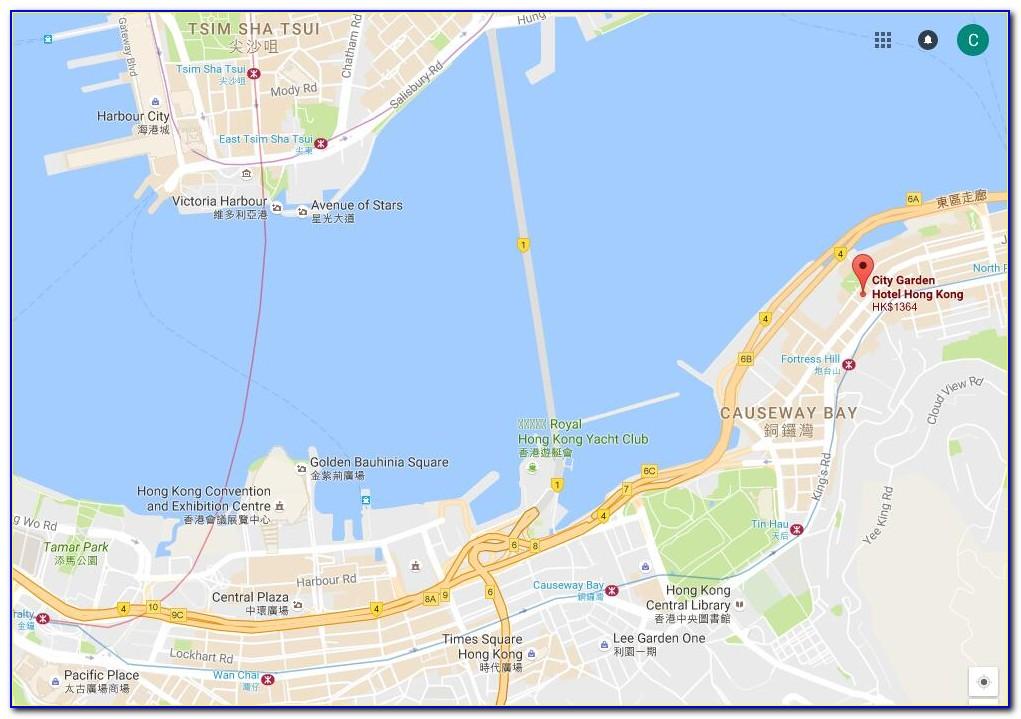 City Garden Hotel Hong Kong Map