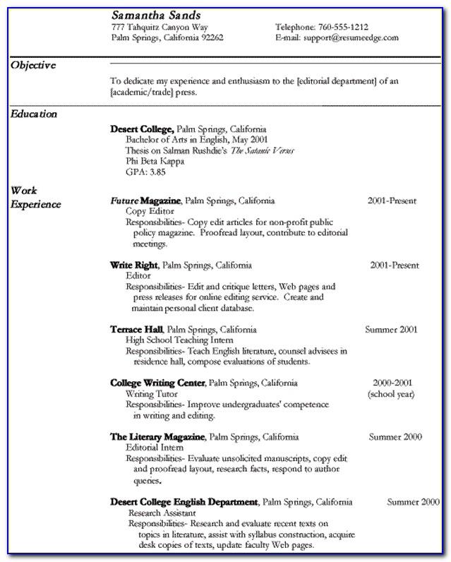 Sample Professional Resume Copy Editor Copy Editor Resume Copy Editor Resume