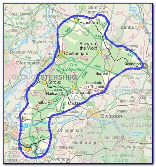 Cotswolds Tourism Maps