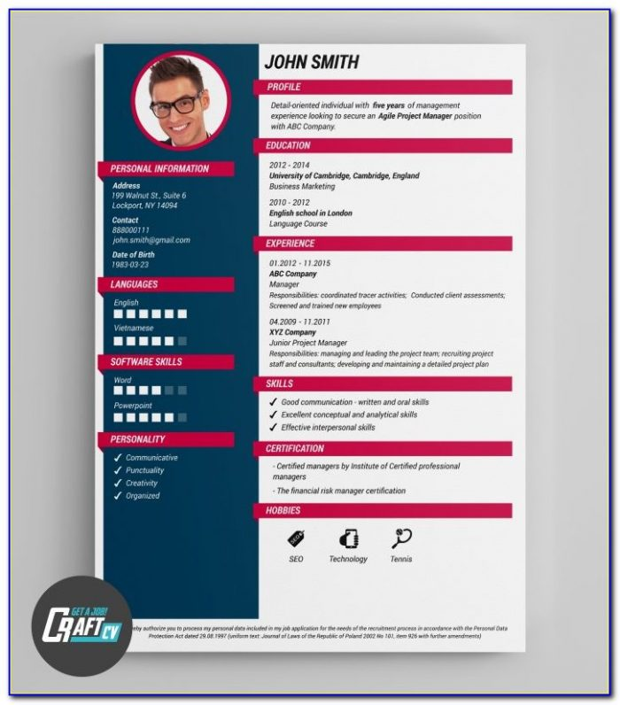 Creative Resume Builder Software