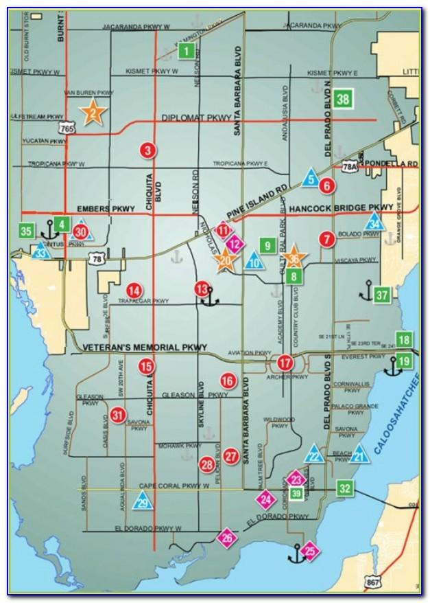 Crime Map Cape Coral Florida