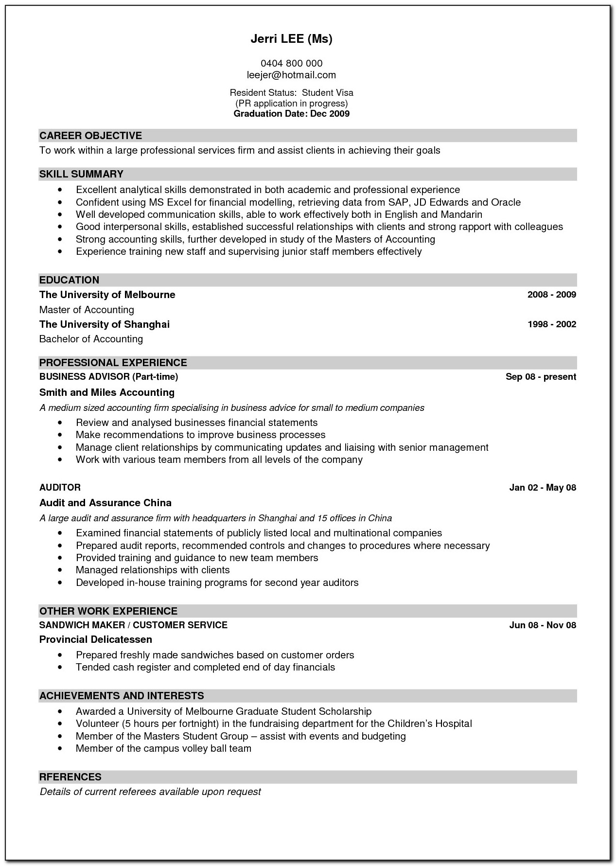 Good Example Of Resume Resume Templates Inside 89 Breathtaking What Is A Good Resume