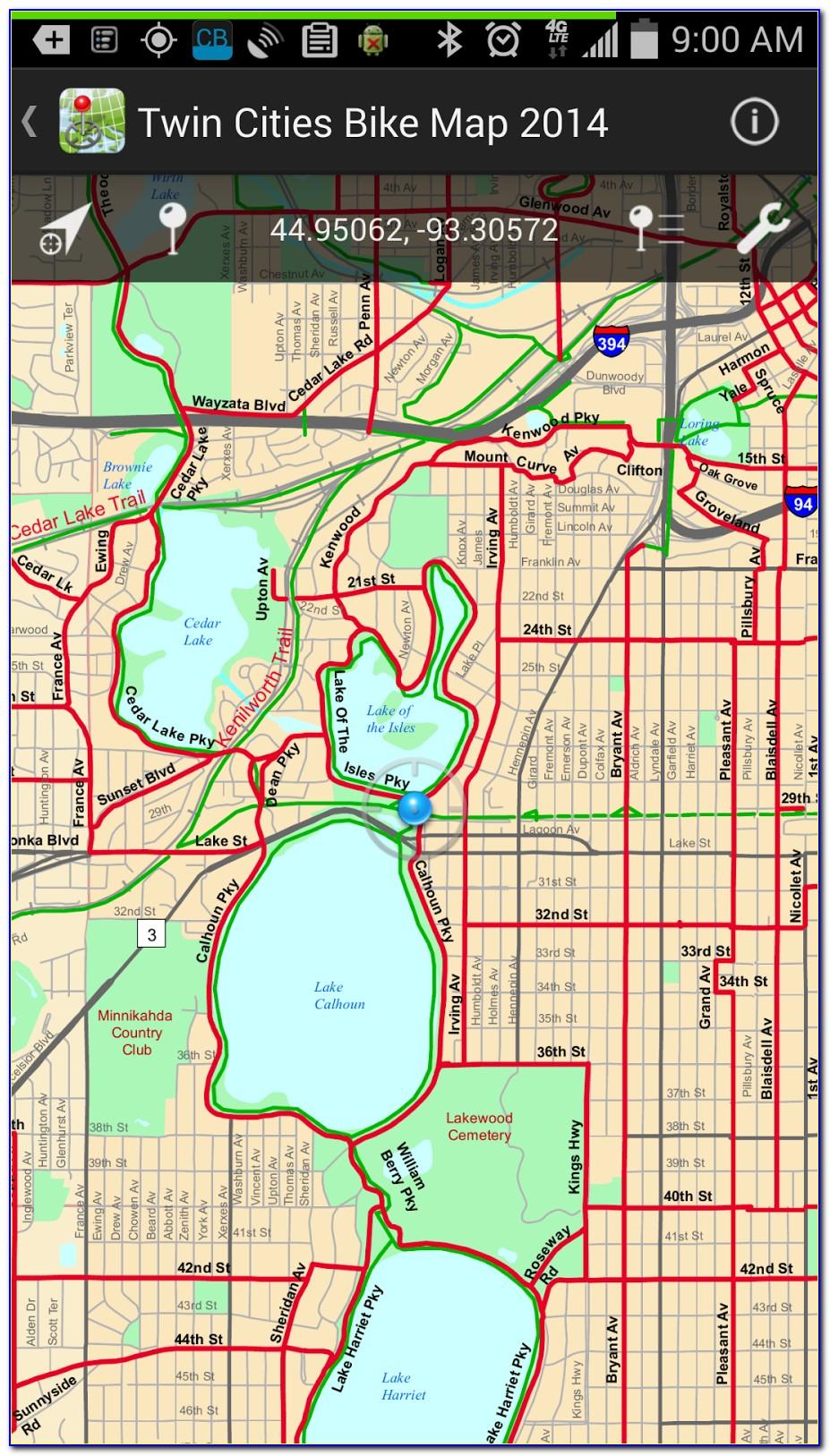 Cycling Gps Map App