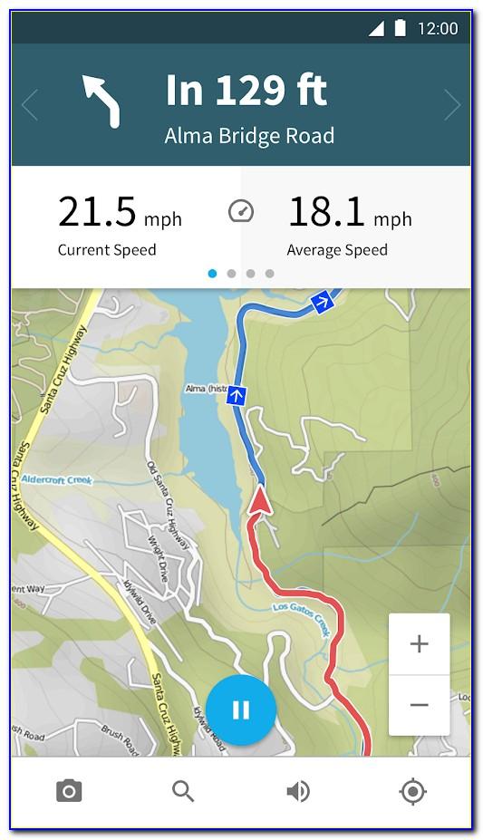Cycling Gps Map
