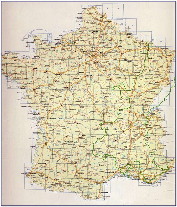 Cycling Maps France Michelin