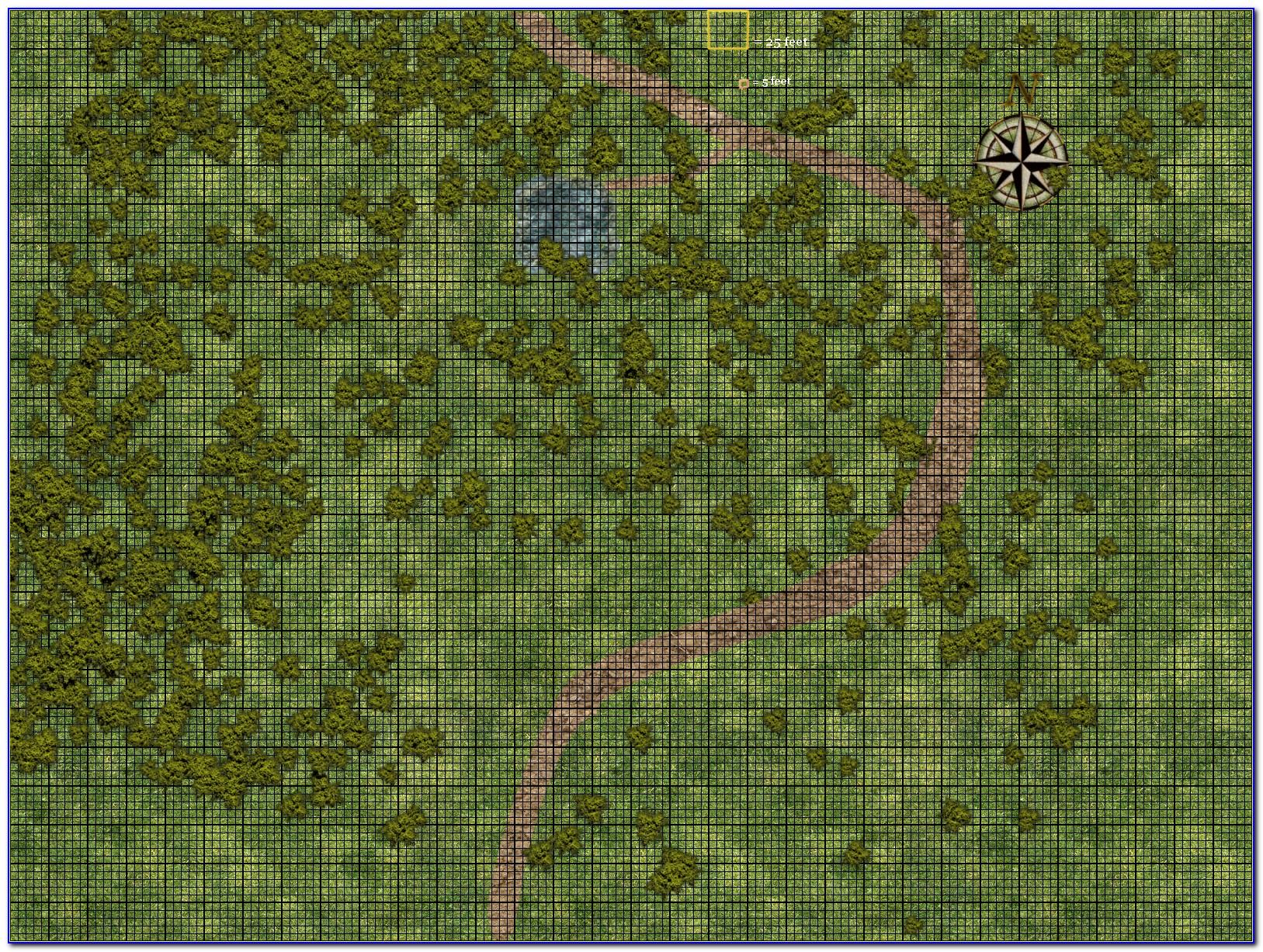 D&d Map Grid Scale