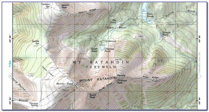 Delorme Map Company Maine