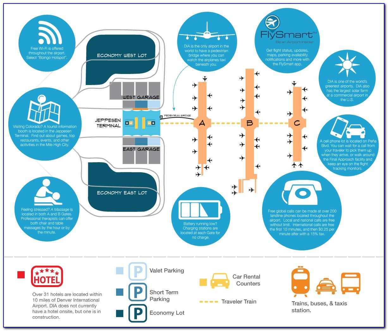 Denver International Airport Map Hotels
