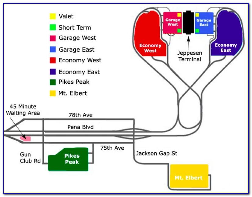 Dia Economy Parking Map