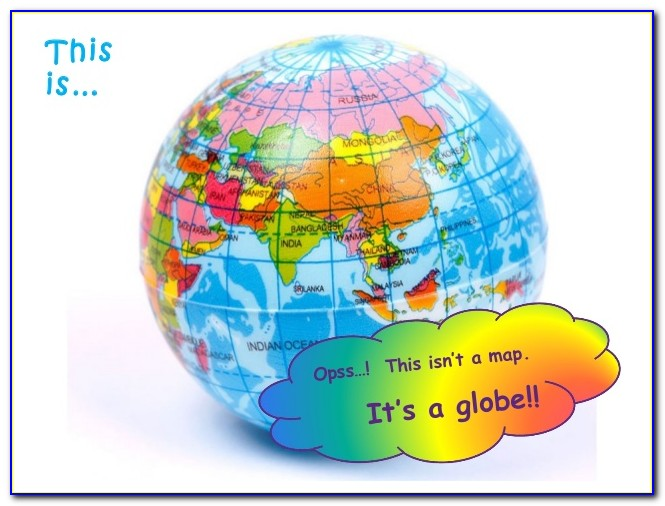 Difference Between Map And Globes