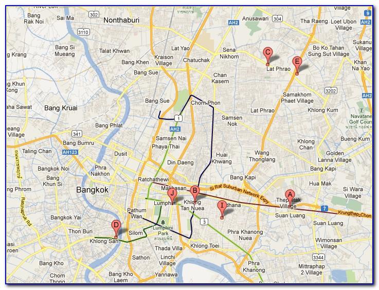 Download Bangkok Offline Google Map