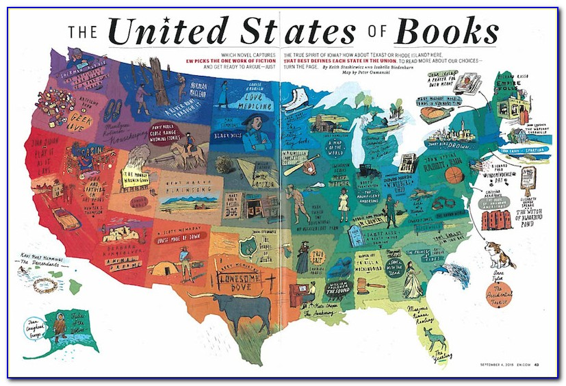 Fantasy Books With Maps