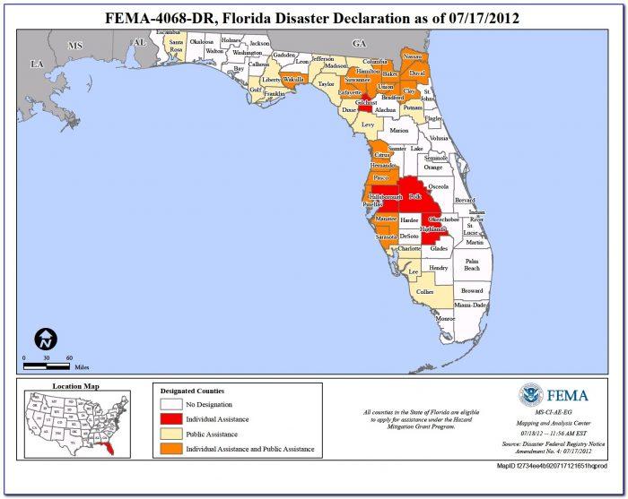 Fema Flood Zone Map Orange County Florida