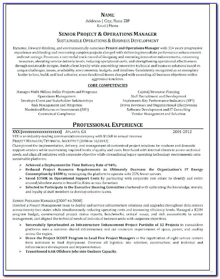 Finance Resume Writing Services Nyc