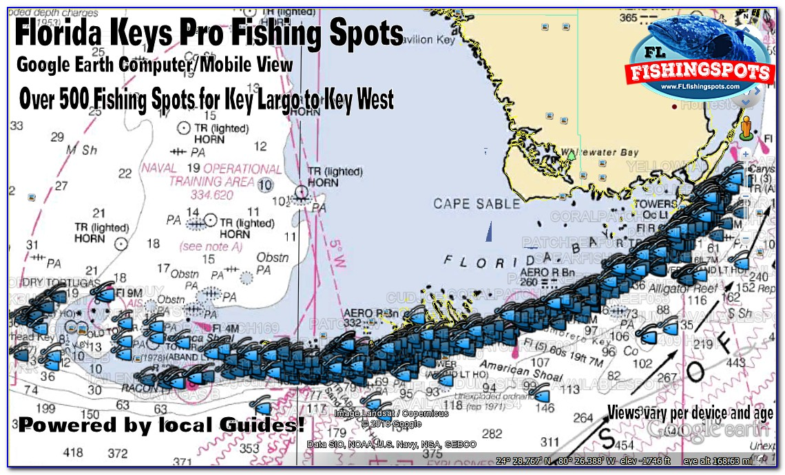 Fl Keys Fishing Maps