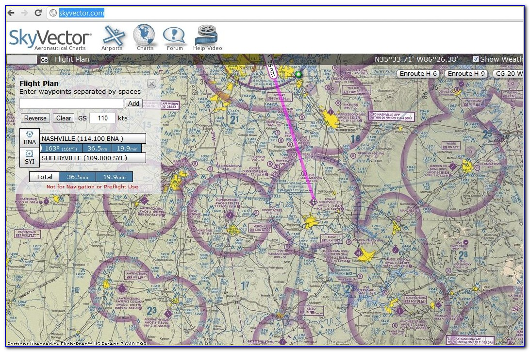 Flight Maps For Pilots