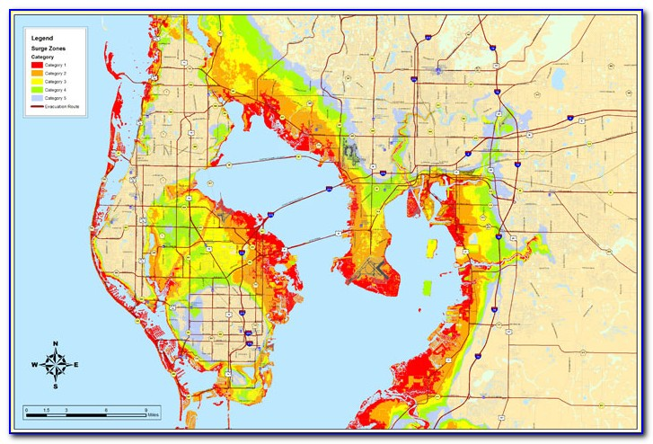 Florida Flood Zone Map 2018