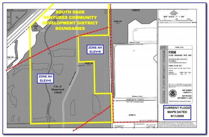 Florida Flood Zone Map Fema