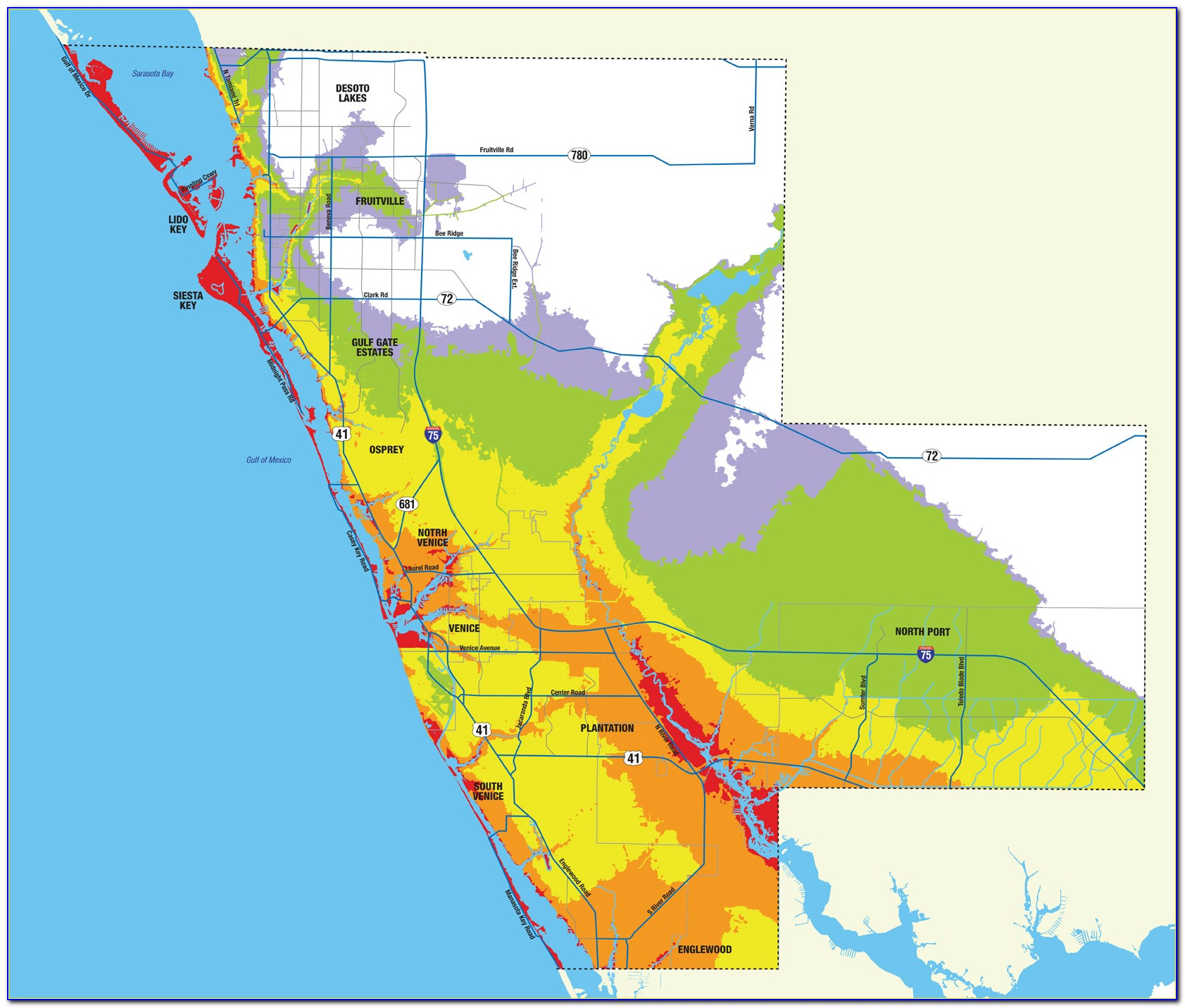 Florida Flood Zone Map Miami Dade