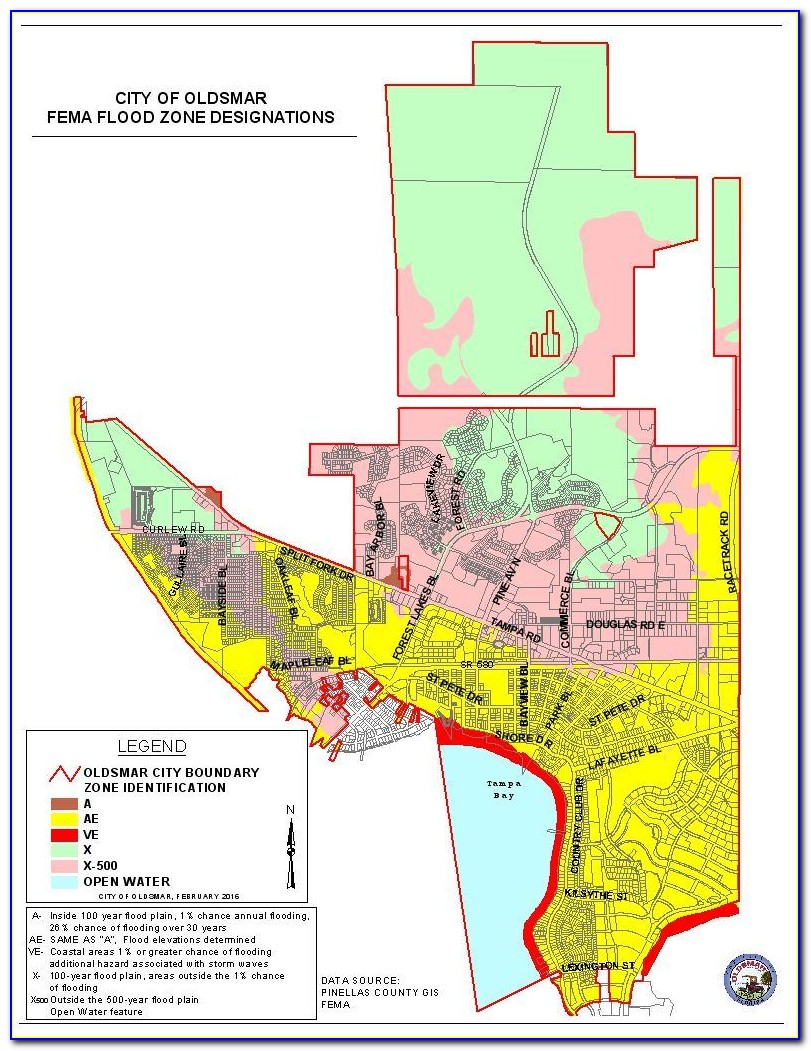 Florida Flood Zone Map Polk County