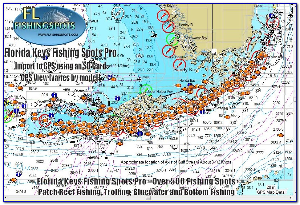 Florida Keys Fishing Maps
