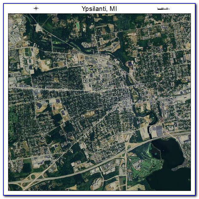 Free Aerial Maps Of Michigan