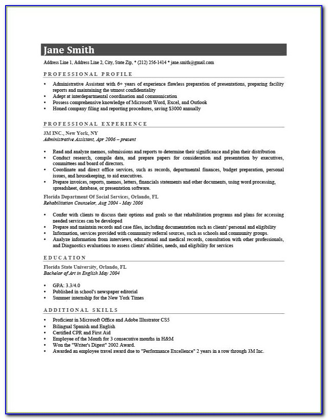 Free Ats Resume Scan New 12 Unique Ats Scannable Resume Examples