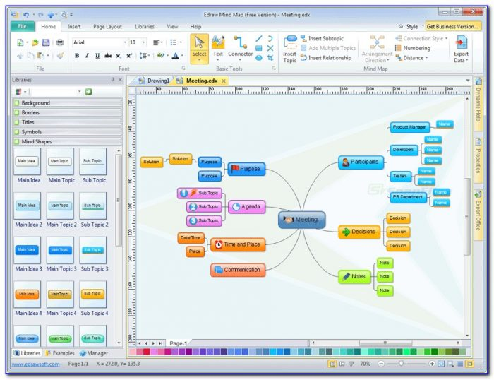 Free Mind Mapping Tools Windows