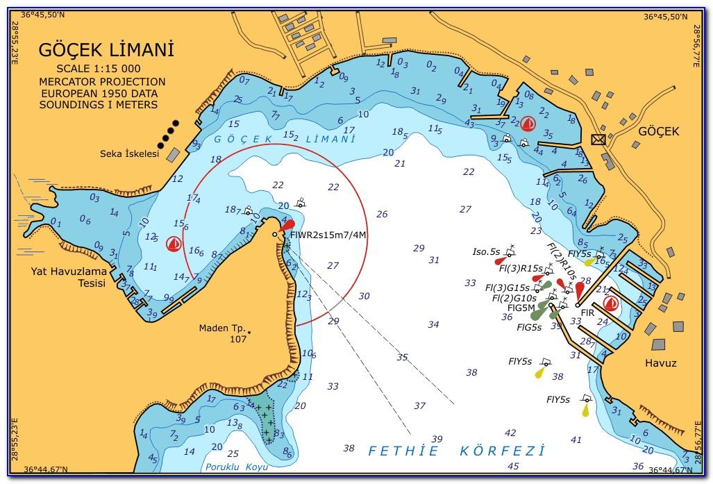 Free Nautical Maps Of Georgian Bay