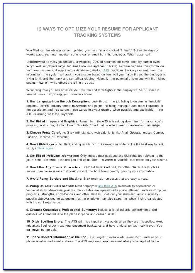 Free Ats Resume Scan Unique Resume Ats Resume Ats Interesting Ideas Resume Scanning Software